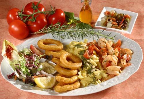 Assiette du chef Pizza Sicilia Cambrai